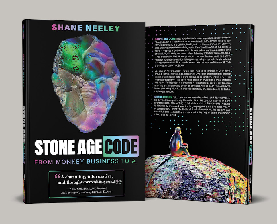 image from Why I wrote my book, Stone Age Code: From Monkey Business to AI